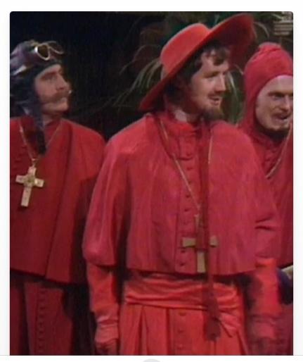 IMAGE Monty Python Spanish Inquisition